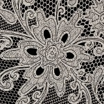LL LACE Black/Platin Nr. 17823 2600x1000x1,5 mm