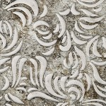 LL ORIENT Vintage Silver/Silve Nr. 17262 2612x1000x2,3 mm