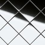 MSC RHOMBUS Silver 15x15 flex. Classic | Nr. 14280 2600x1000x1,2 mm