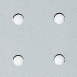 3D H-8-30-30 Silver PF met/Silver Nr. 10031 2600x1000x1,3 mm