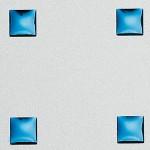 3D Q-10-40-40 Silver PF met/Blue Nr. 10051 2600x1000x1,3 mm