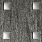 3D Q-10-40-40 Smoke PF met touch 1/Silver matt Nr. 12519 2600x1000x1,3 mm