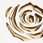 3D ROSES Pearl White PF/Gold Nr. 16443 2600x1000x1,3 mm