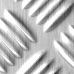SL STEP 5 Silver brushed matt AR Nr. 16437 2612x1000x2,3 mm
